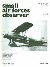 SMALL AIR FORCES OBSERVER V20 N1 FINNISH MORKO-MORANE Ms406_ETHIOPIAN AF_HUNGARI