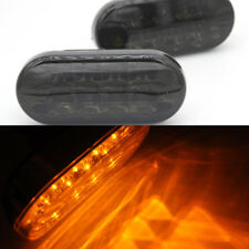 For VW Jetta Golf Mk4  99-2004 2x Smoke Amber Side Fender Turn Signal LED Light