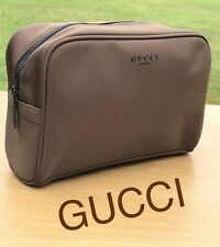GUCCI MENS WASH BAG TRAVEL POUCH TOILETRY BAG Brand New FREE DELIVERY! d7099cd2dfe52
