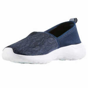 NWOB!! Adidas Women's Navy CloudFoam Lite Racer Slip On Shoes Variety in Size