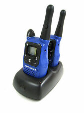 Motorola Talkabout Two-Way Radio K7GMCBBJ + LD014107 CH610E Charger KEM-ML36100