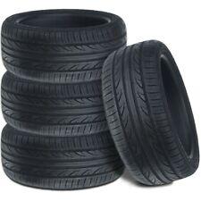 4 New Lexani LXUHP-207 235/45ZR18 98W XL All Season Ultra High Performance Tires