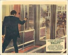 BULLITT STEVE MCQUEEN ORIGINAL  BRITISH LOBBY CARD