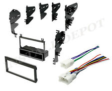 ★ 87-2003 Toyota Complete Radio Stereo Dash Kit with Wire Harness Install CD ★