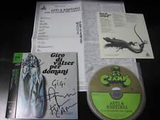 Arti & Mestieri Giro di Valzer per Dom Japan Mini LP CD Signed Copy Paper Sleeve
