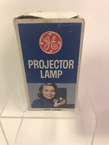 GE DCF Vintage Projector Lamp Bulb 4 Pin New Bulb Replaces DLS Open Box