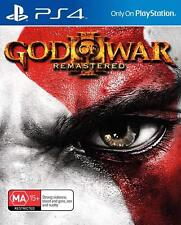 NEW Sony God of War 3 Remastered Playstation 4 PS4 BRAND NEW SEALED MA 15+