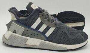 Adidas EQT ADV 91-17 Textile Trainers 779001 Grey/White UK7/US7.5/EU40.5