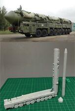 1/144 Russian RS-24 Yars Intercontinental Ballistic Missile Resin Kit