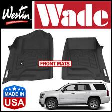 Westin Wade Sure-Fit Custom Molded 2015-2019 Chevrolet Tahoe Front Floor Mats