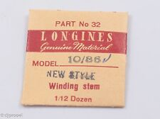 Longines Genuine Material Stem Part 32 for Longines Cal. 10/86N