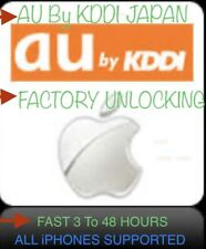 AU KDDI ✅JAPAN ALL iPHONES ✅FACTORY UNLOCKING SERVICE FAST 3 To 24 HOURS✅