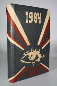 1949 Nineteen Eighty-Four George Orwell First Edition 'Russian Poster' Binding