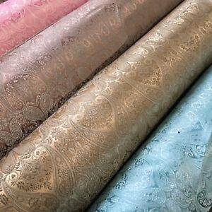 "Paisley Ornamental Jacquard Waistcoat, Jacket Brocade Fabric 44"" Wide Mtex MK855"