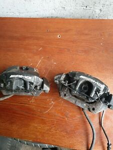 MERCEDES SLK R170 2.3 PAIR OF FRONT AMG CALIPERS