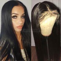 100% Virgin Brazilian Human Hair Lace Front Wigs Silk Base Top Full Lace Wig 550