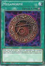 YU-GI-OH CARD: MEGAMORPH - SDKS-EN027 - 1st EDITION