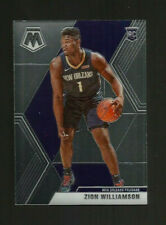 2019-20 MOSAIC PELICANS ZION WILLIAMSON ROOKIE CARD #209