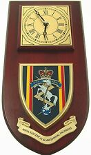 REME ROYAL ELECTRICAL AND MECHANICAL ENGINEERS REGIMENTAL WALL CLOCK
