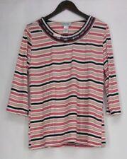 Maglie e camicie da donna maniche a 3/4 a righe taglia XL