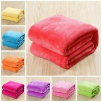 Warm Throw Super Soft Plush Velvet Blanket Sofa Home Bed Covers Twin Queen King