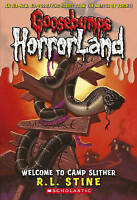 Stine, R L, Welcome to Camp Slither (Goosebumps Horrorland), Very Good Book
