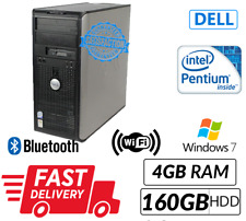 Cheap Computer/PC Pentium Dual Core Best for Daily Home Usage WIFI/DVD Win 7 Pro