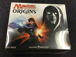 MAGIC ORIGINS BUNDLE FAT PACK BOX MTG 9 BOOSTERS BOX