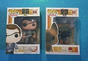 THE WALKING DEAD DOG 891 POP VINYL THE GOVERNOR 66 BRAND NEW POP TELEVISION