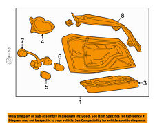 Chevrolet GM OEM 14-18 Impala-Tail Light Assembly Right 23405237