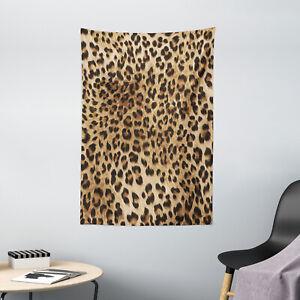 Leopard Print Tapestry Wild Animal Skin Print Wall Hanging Decor