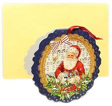 Mini Advent Calendar Christmas Card Decoration - Father Christmas