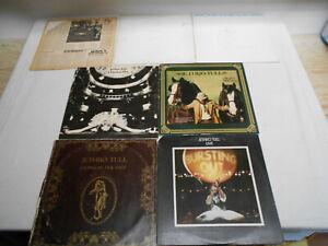 Jethro Tull - Sammlung 7 LP's - Hinweis beachten !