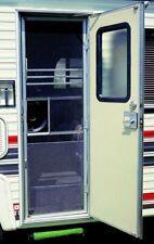 Aluminum Standard Grille RV Screen Door  Adjustable Width Camper Guard Protectio