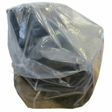 More details for 5 large strong plastic sofa settee covers 600 gauge clear polythene protectors