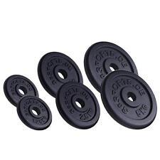 ScSPORTS® 17,5 kg Hantelscheiben Set Guss 2x 5 /2x 2,5 /2x1,25 kg Gewichte 30 mm