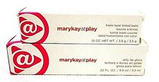 Mary Kay At Play- Pink Again Triple Layer Tinted Balm + Glow With It Jelly Gloss