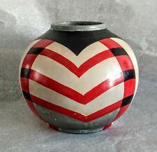 Ancien Grand Vase en Terre Cuite signé MORIT. Art Déco.