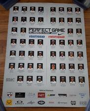 2015 Perfect Game 18x24 Poster Nolan Jones, Khalil Lee, Alex Kirilloff