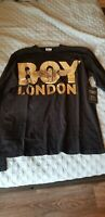 Brand New Boy london t shirt with tags size L