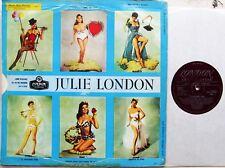 JAZZ/POP VOCAL LP: JULIE LONDON Calendar Girl SOUTH AFRICAN cheesecake pin-up