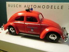 Busch (1:87) Volkswagen Kafer Beetle Fire Dept #42770