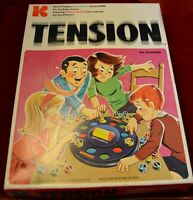 Vtg Tension Action Game Spinomatic 1970 Complete