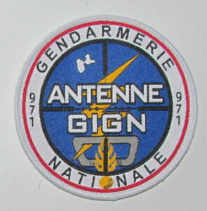 France Gendarmerie GIGN Antenne 971 Guadeloupe French Police SWAT Tactical Patch