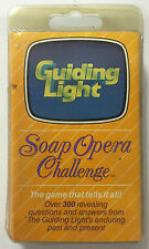 Soap Opera Challenge THE GUIDING LIGHT Vintage Card Game New in Package w/Dice!