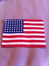 Drapeau US 48 étoiles en coton 10 X 7 cm pour manche de veste para belle qualité