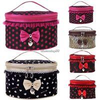 Portable Travel Toiletry Makeup Cosmetic Bag Wash Case Organizer Holder Handbag