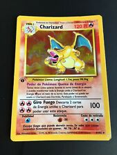 Charizard Fire Spin Base Set First Edition Holo