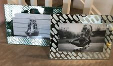 Decorative Mirror Picture Frames Set Of 2 4x6