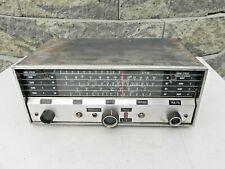 Vintage Hallicrafters S-120 Shortwave Tube Ham Radio Receiver 4-band 4 parts